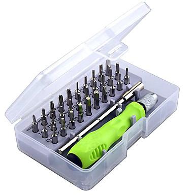 billige Skrutrekkere-presisjonsskrutrekker sett med 32 i 1 mini magnetisk skruetrekker sett telefon mobil ipad kamera vedlikehold verktøy torx