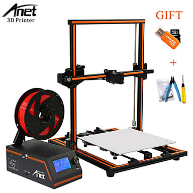 billige 3D-skrivere og tilbehør-Anet Anet E12 3D-skriver 300*300*400 0.4 mm GDS
