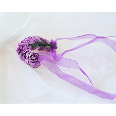 Cvijeće za vjenčanje Wrist Corsage Vjenčanje / Svadba Reljefni papir / Čipka 0-10 cm