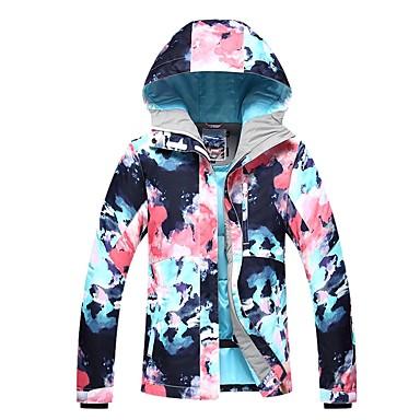 8118f572c2 GSOU SNOW Women s Ski Jacket Ski Skiing Winter Sports Winter Sports POLY Top  Ski Wear