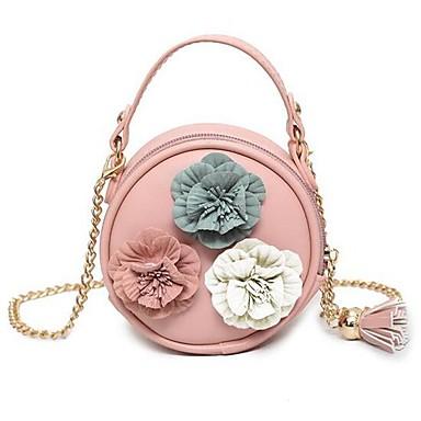 cheap Kids' Bags-Women's Bags PU(Polyurethane) Kids' Bag Zipper Floral / Botanical Beige / Silver / Khaki