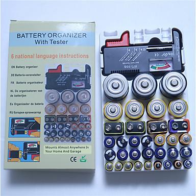 voordelige Test-, meet- & inspectieapparatuur-1 pcs Kunststoffen Batterijtester Geschikt / Meten