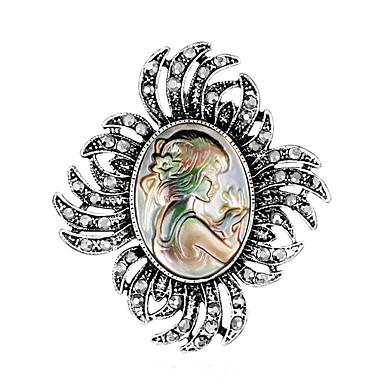 Žene Broševi Klasičan Kreativan Klasik Moda Broš Jewelry Pink Za Vjenčanje Party Cosplay nošnje