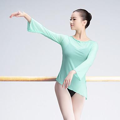 Balet Majice Žene Trening / Seksi blagdanski kostimi Poliester Wave-like Dugih rukava Top
