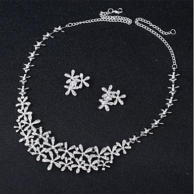 Žene Svadbeni nakit Setovi Klasičan Gypsophila slatko Moda Naušnice Jewelry Obala Za Vjenčanje Party 1set