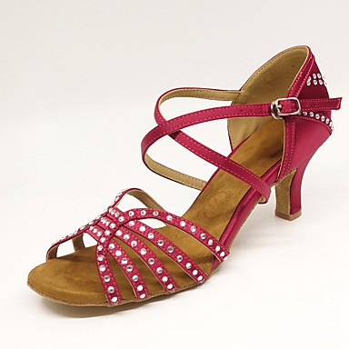 Baile De Alto Sandalia Mujer Tacones Zapatos Latino Sintéticos TOPZiuXk