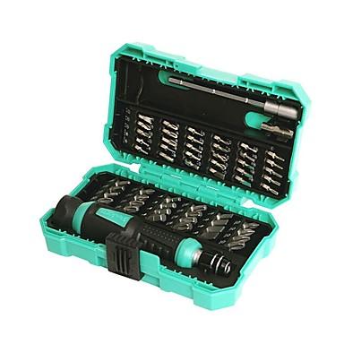 baratos Chaves de Fenda & Soquete-Pro'skit sd-9857m multifunções 57 em 1 computador de precisão chaves de fenda de reparação-ferramentas e melhoria home ferramentas manuais -57 em 1 computador chave de fenda de precisão