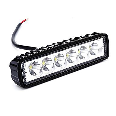 OTOLAMPARA 1 komad Automobil Žarulje 18 W LED visokih performansi 1800 lm 6 LED Svjetlo za rad Za Plićak / Renault / General Motors Escort / Sierra / Edge Sve godine