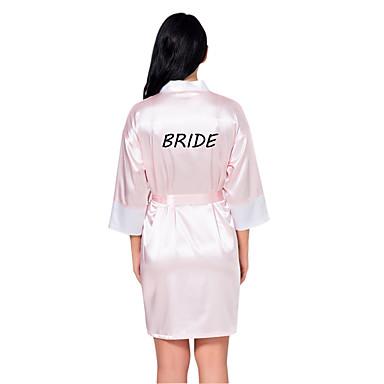 Faux Svila Ogrtači Vjenčanje Personalized