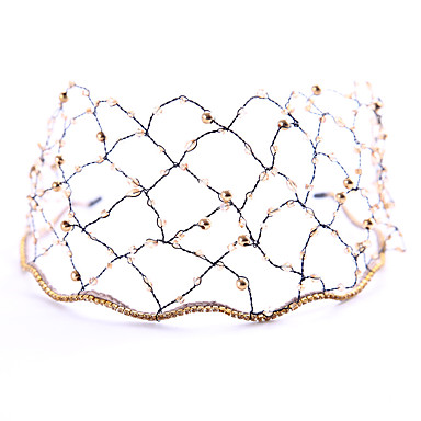 Drago kamenje i kristali Trake za kosu s Crystal / Rhinestone / Cvijet 1 komad Vjenčanje / Zabava / večer Glava