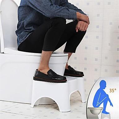 """hesapli Depolama ve Düzenleme-Tuvalet squat dışkı banyo tuvalet dışkı banyo çömelme için stool lazımlık yardım için adım dışkı tuvalet duruşu ve sağlıklı bırakma taşınabilir kompakt tasarım 7 """"17 cm"""