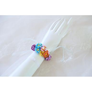 Cvijeće za vjenčanje Wrist Corsage Vjenčanje / Svadba Silk Like Satin / Reljefni papir 0-10 cm