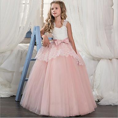 416ad5cf60e5 Cinderella Princeznovské Kostým Dívčí Dětské Šaty Kostým na Večírek Fialová    Červená   Růžová Retro Cosplay