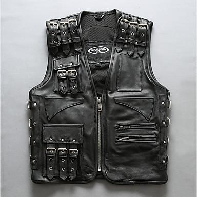 HARLEY ANGEL 97105 Odjeća za motocikle prsluci za Muškarci Kravlja koža Proljeće & Jesen Otporne na nošenje / Prozračnost