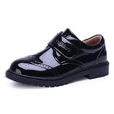 baratos Sapatos de Criança-Para Meninos Sintéticos Oxfords Criança (9m-4ys) / Little Kids (4-7 anos) / Big Kids (7 anos +) Conforto Velcro Preto Outono & inverno
