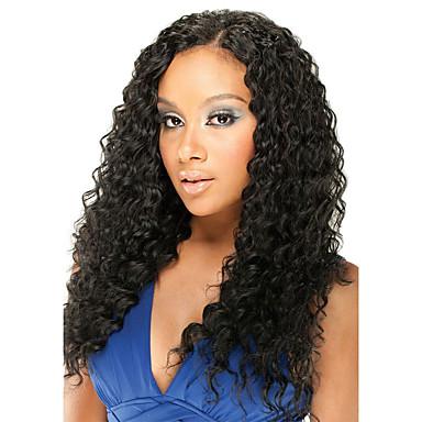 Kökten Saç 6x13 Kapanma Ön Dantel Peruk Derin ayrılık stil Düz Brezilya Saçı Bukle Peruk % 150 % 180 Saç yoğunluğu Ayarlanabilir Isı Dirençli En iyi kalite Kalın Klipsli Doğal Kadın's Orta Uzunluk