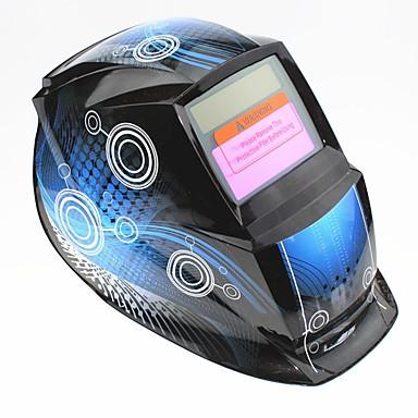 plava zavojnica uzorak solarna automatska fotoelektrična maska za zavarivanje