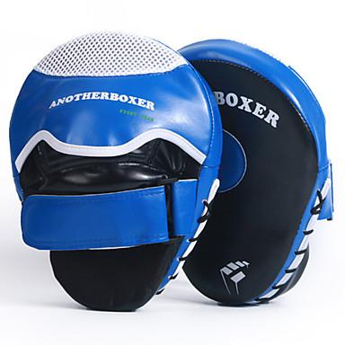 Boksačke rukavice Za Muay Thai boks Boks trening Kickboks Izdržljivost Hvat za palac Podesivi remen za rukavice Prozračnost Otpornost na udarce Sprječavanje ozljeda PU koža 2 pcs Odrasli - Plava Red
