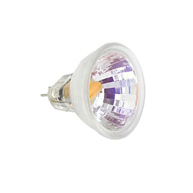 1pc 2 W LED svjetla s dvije iglice 230-250 lm MR11 1 LED zrnca COB Toplo bijelo