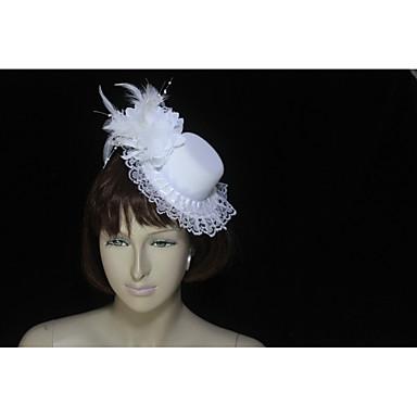 Til / Perje / Flanel Fascinators s Perje 1 komad Vjenčanje / Special Occasion Glava