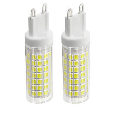 abordables Ampoules électriques-2pcs 6 W Ampoules Maïs LED 750 lm G9 T 88 Perles LED SMD 2835 Blanc Chaud Blanc Froid 85-265 V