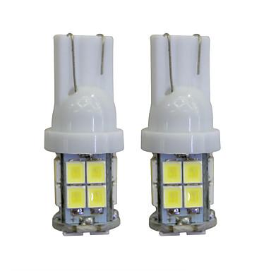 2 adet t10 2 w 40 lm 8000 k led iç ışıkları araba ampulleri için otomobil / motosikletler