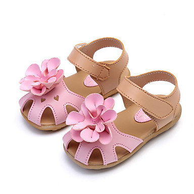 Niños Verano Sandalias Chica Para Sintéticos Confort Zapatos Flor nk0ZOPN8wX