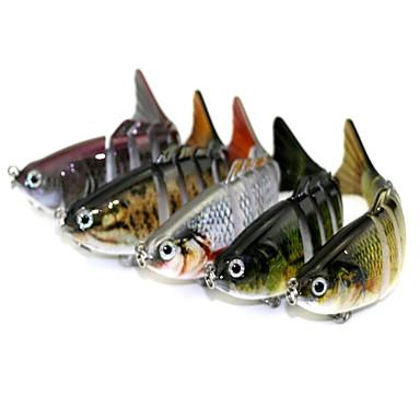 1 pcs خدع الصيد طعم صيد جامد البلاستيك الكربون الصلب مقاومة للاهتراء ضوء ومريحة سهلة الاستخدام الغرق الصيد البحري طعم الاسماك صيد الأسماك الغزلي / صيد الكالماري / إغراء الصيد / الصيد العام