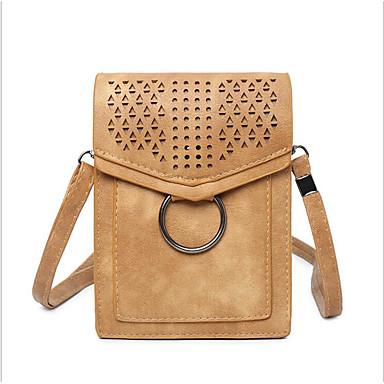 f3003950a080 Women s Bags PU(Polyurethane) Mobile Phone Bag Zipper Almond   Fuchsia    Brown