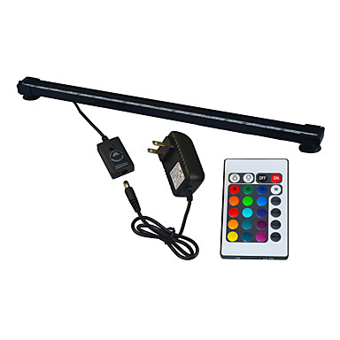 preiswerte Dekorative Beleuchtung-1pc 6 W 420 lm 50 LED-Perlen SMD 5050 Wasserfest / Ferngesteuert / Dekorativ RGB 100-240 V
