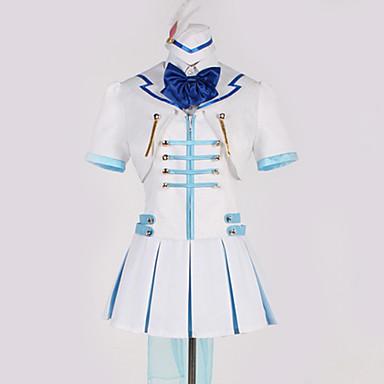 Inspirirana Ljubav uživo Cosplay Anime Cosplay nošnje Japanski Cosplay Suits Art Deco / Mašna Bluza / Top / Suknja Za Muškarci / Žene / Rukavice