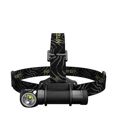 billige Lommelykter & campinglykter-Nitecore HC33 Hodelykter 1800 lm LED LED 1 emittere Enkel å bære Camping / Vandring / Grotte Udforskning Dagligdags Brug Fisking Svart