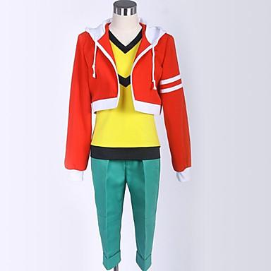Inspirirana Jedanaest Inazuma Student / Školska uniforma Anime Cosplay nošnje Japanski Cosplay Suits Miks boja Kaput / Hlače / T-majica Za Muškarci / Žene
