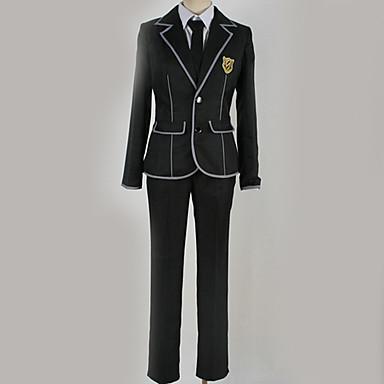 Inspirirana Kriv kruna Ouma Shu Anime Cosplay nošnje Japanski School Uniforms Uglađeni / Suvremeno Kaput / Bluza / Top Za Muškarci / Žene