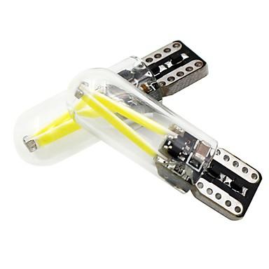 2pcs T10 Motorsiklet / Araba Ampul 2 W COB 150 lm 2 LED Dönüş Sinyali Işığı Uyumluluk Evrensel