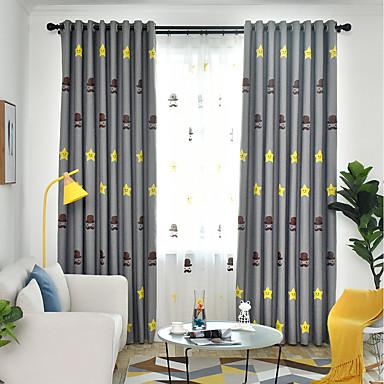 Zemlja Blackout Zavjese Zavjese Dvije zavjese Zavjesa / Vez / Bedroom