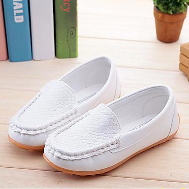 ieftine Pantofi de Copii-Băieți / Fete Pantofi PU Primăvara & toamnă Confortabili Mocasini & Balerini pentru Copii Fucsia / Maro / Bleumarin