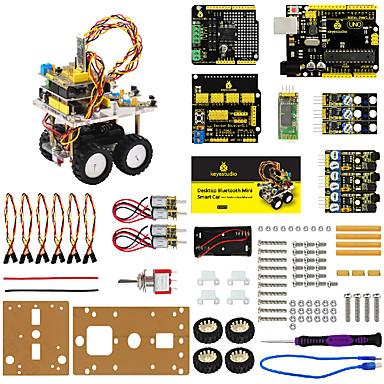 voordelige Elektrische apparatuur & benodigdheden-keyestudio desktop bluetooth mini slimme auto