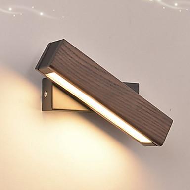 Cool Suvremena suvremena Zidne svjetiljke Magazien / Cafenele Wood / Bamboo zidna svjetiljka 220-240V