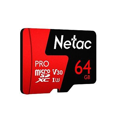 Netac 64Go carte mémoire UHS-I U3 / V30 P500pro