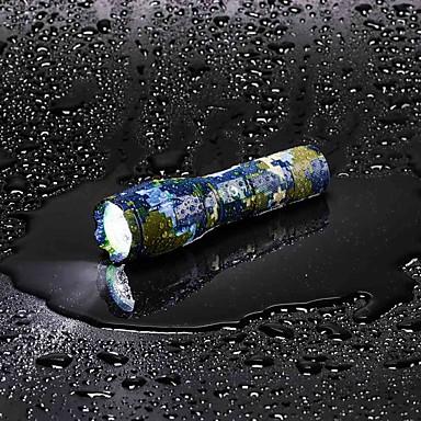 billige Lommelykter & campinglykter-U'King LED Lommelygter LED LED emittere 2000 lm 5 lys tilstand med batteri og lader Zoombare Justerbart Fokus Camping / Vandring / Grotte Udforskning Dagligdags Brug Multifunktion