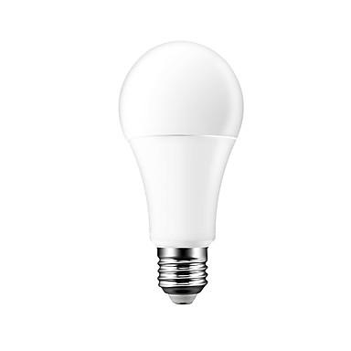 ราคาถูก หลอดไฟ-brelong การควบคุมด้วยเสียงแบบไร้สายอัจฉริยะ rgbw bulb 7w / e27