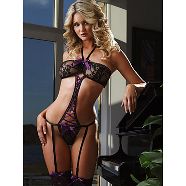 a1af464200261 Women s Garters   Suspenders Nightwear - Lace Solid Colored