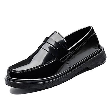 Pánské Komfortní boty PU Jaro Nokasíny Černá