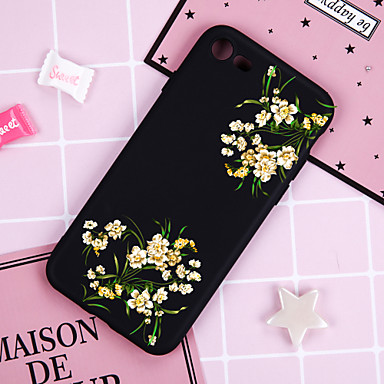 fodral Till Apple iPhone XR / iPhone XS Max Mönster Skal Blomma Mjukt TPU för iPhone XS / iPhone XR / iPhone XS Max