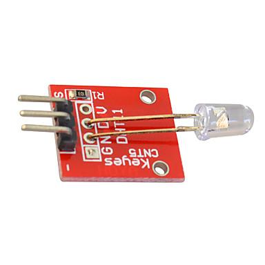 voordelige Elektrische apparatuur & benodigdheden-kleurrijke automatisch knipperende led-module