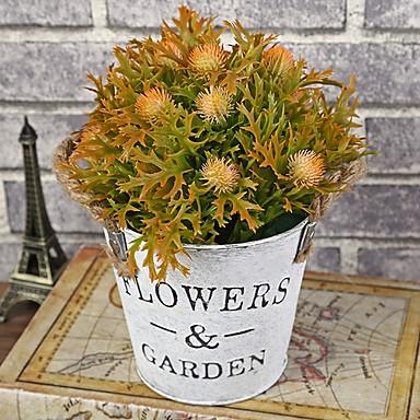 Fleurs artificielles 0 Une succursale Classique Style Simple Fleurs éternelles Vase Arbre de Noël