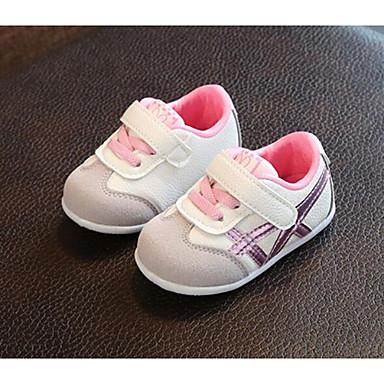 voordelige Babyschoenentjes-Jongens / Meisjes Netstof Sneakers Zuigelingen (0-9m) / Peuter (9m-4ys) Comfortabel Groen / Roze / Lichtblauw Lente & Herfst / Zomer