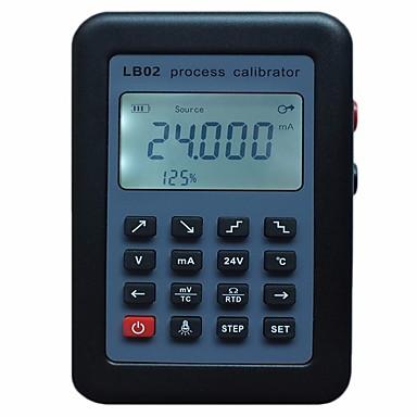 voordelige Test-, meet- & inspectieapparatuur-lb02 signaal generator weerstand huidige voltmeter bron proces kalibrator 4-20ma / 0-10v / mv lcd-scherm