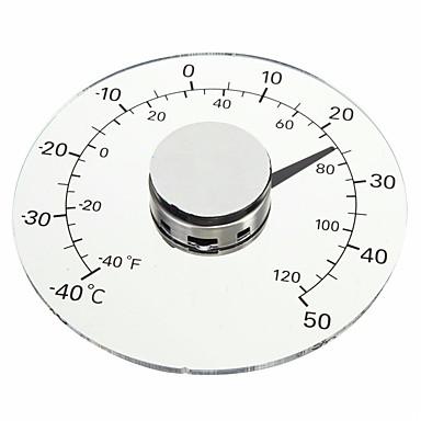 povoljno Mjerači temperature-jasno fahrenheit Celzija stupanj kružni vanjski termometar higrometar temperatura vlažnost metar